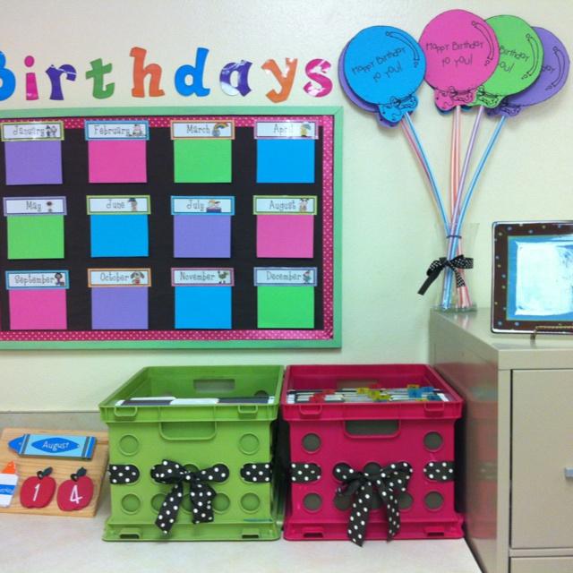 Classroom Design Birthday ~ My birthdays board peek into classroom pinterest