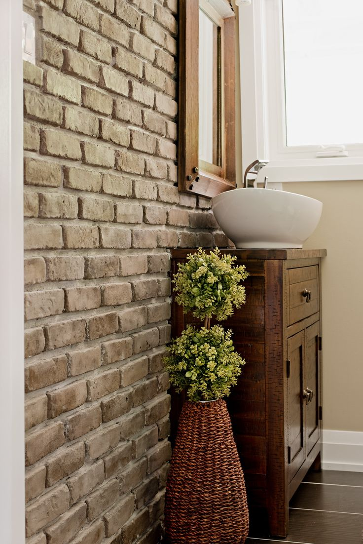 Stone Selex   Thin Brick Veneer Bathroom Wall