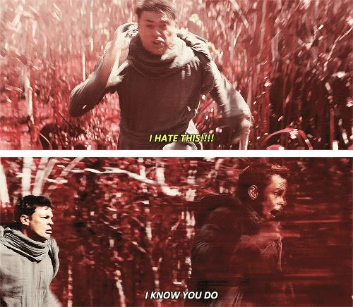 Star Trek Into Darkness Haha! This part made me laugh! :)