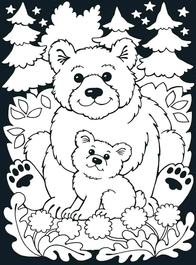 Image result for forest animals coloring pages | color ...