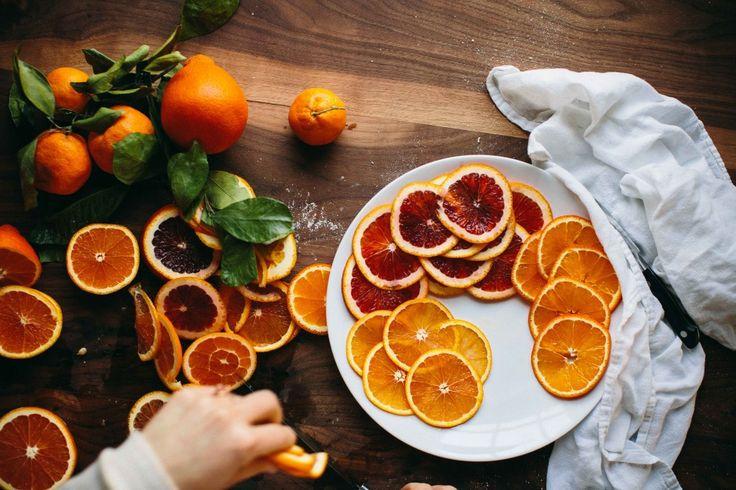 Brilliant and beautiful citrus. Happyolks | Orange Chocolate Tart