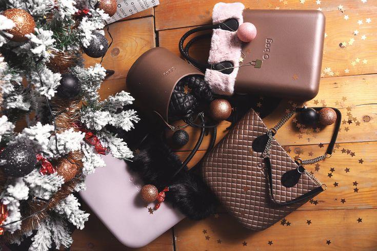 Christmas styled Obag - Obag Classic, Obag Mini, Ochic, Obasket