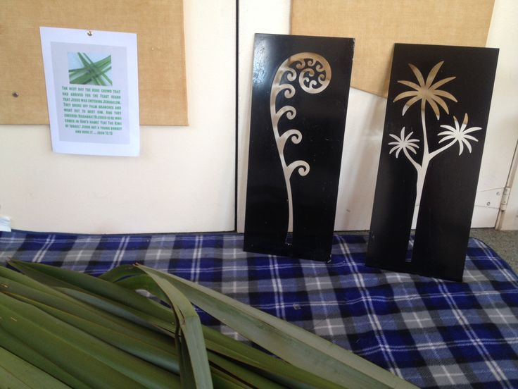 Using New Zealand flax for Palm Sunday. Children can sit on the mat and weave whatever they like. We will hopefully use their creations during the lead up to Easter this year. Provocation, John 12:13, stations of the cross, easter story, emergent church, sunday school.