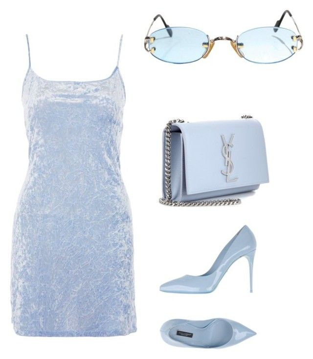 """❄️"" by muvac ❤ liked on Polyvore featuring Nobody's Child, Dolce&Gabbana, Yves Saint Laurent and Cartier"