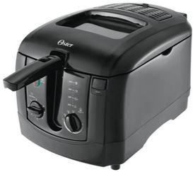 Oster CKSTDFZM55 3-Liter Cool Touch Deep Fryer: a trusted brand with affordable price, by now with deep discounted price!