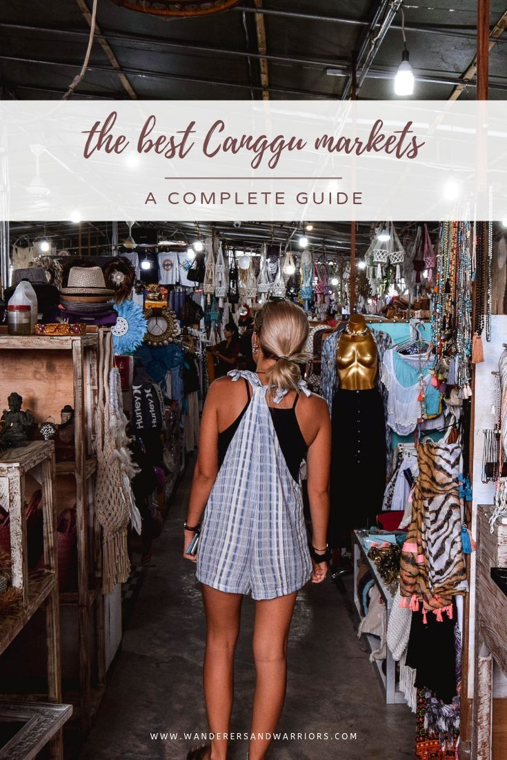 The Best Canggu Markets – A Complete Guide