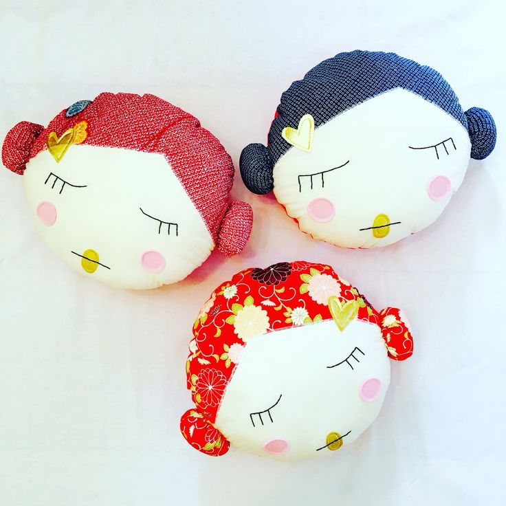 Doll Face Cushions