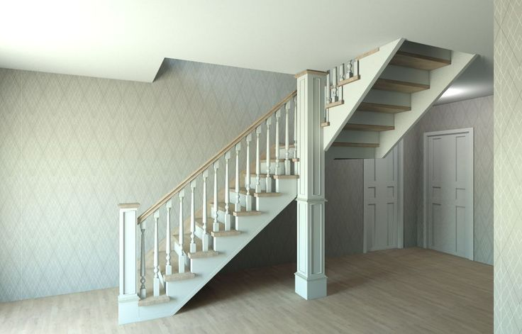"3D project stairway (option two) designed in ""Conception Design Interior"""