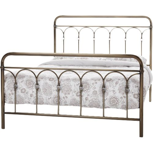 found it at wayfaircouk manseau bed frame - Cheap Metal Bed Frame