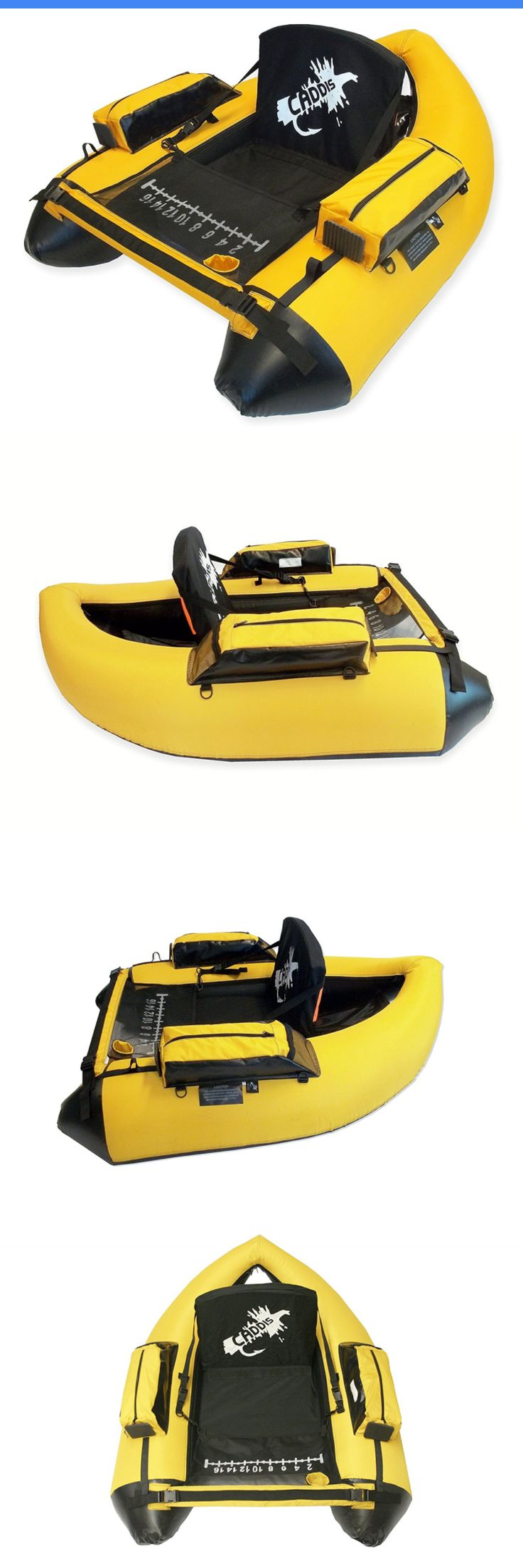 Float Tubes 179995: Caddis Sports Premier Plus Float Tube, Yellow BUY IT NOW ONLY: $189.58