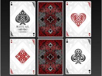 Cartes  à Jouer Luxe Ritual Série Limitée chez Baron des échecs