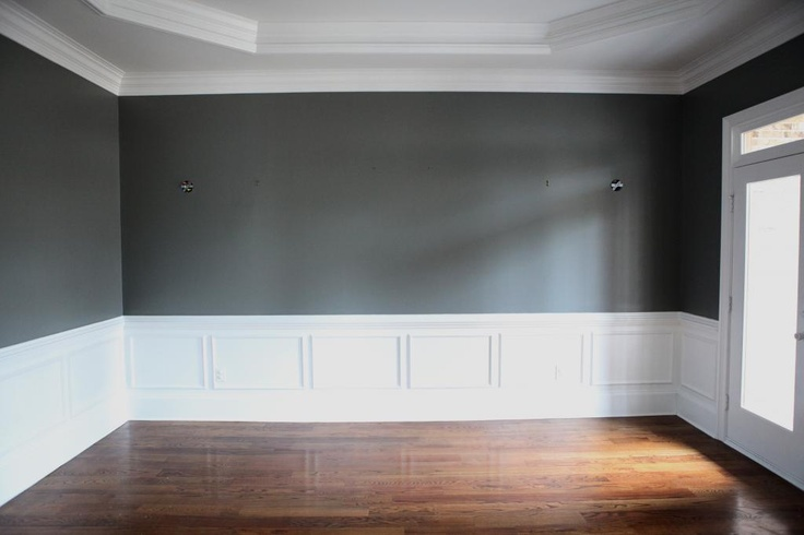 214 best 50 shades of grey images on pinterest paint for Grey walls white trim