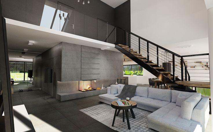 dom z antresolą, wersja 1