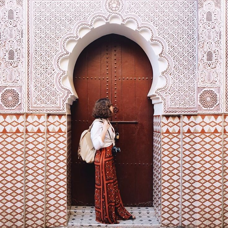 Colors and textures in Morocco.