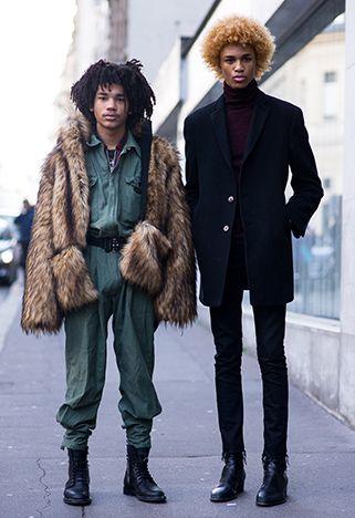 PFW AW16: Men's Street Style