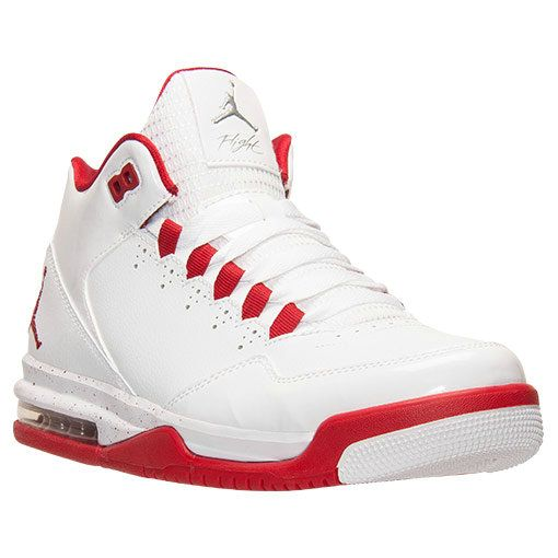 promo code 7f98a 25b7d 2018 Legit Cheap Jordan Flight Origin 2 White Gym Red Metallic Silver  705155 106