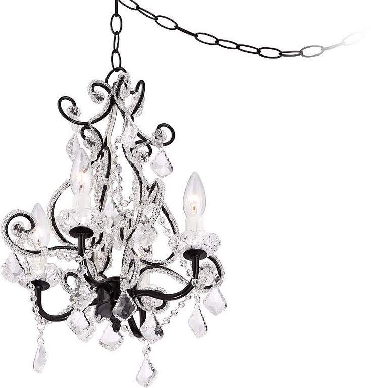 best 25  plug in chandelier ideas on pinterest