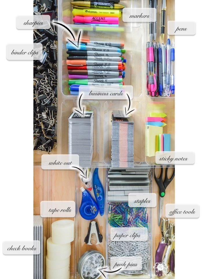 Organized And Functional Office Supply