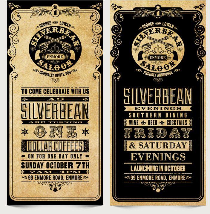 Silverbean - DL Birthday Flyer
