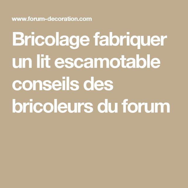 les 25 meilleures id es de la cat gorie lits escamotables sur pinterest lits muraux plans de. Black Bedroom Furniture Sets. Home Design Ideas