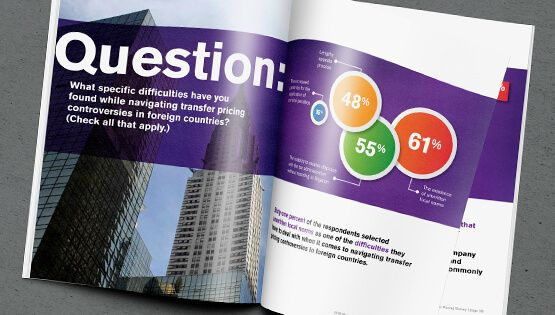 Bloomberg Business Print Catalog Design  Increase retention of your info through stand out graphics.