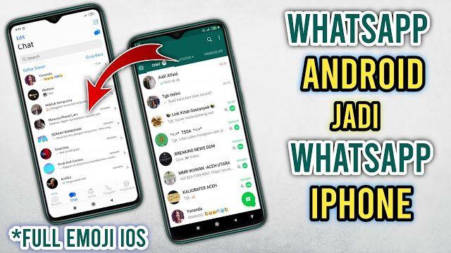 Unduh Whatsapp Mod Ios Apakah Anda Pernah Melihat Seseorang Menggunakan Obrolan Iphone Menggunakan Whatsapp Anda Pasti Sudah Melihatnya Bai Iphone Ios Emoji