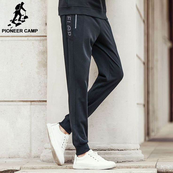 Pioneer Camp new black joggers men brand clothing male casual pants top quality fashion trousers sweatpants for men 699093