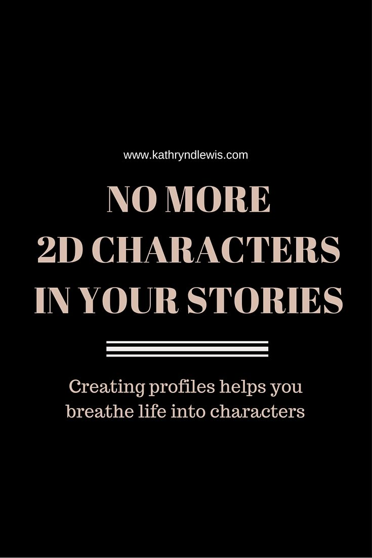 how to write a character profile for a script