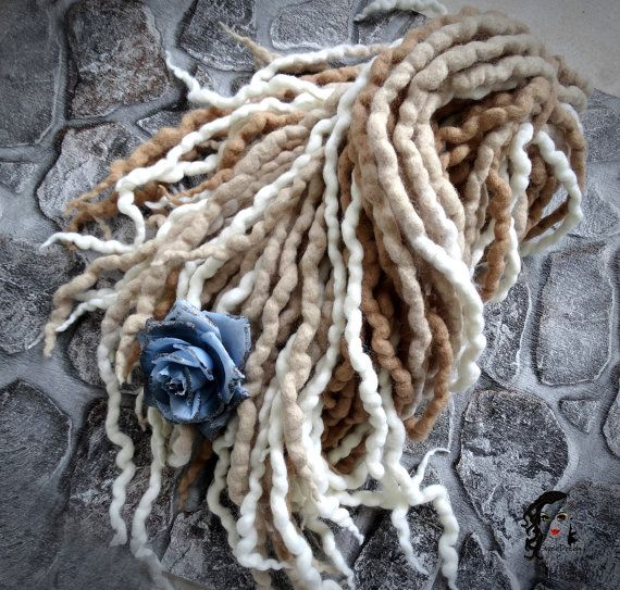 Wool Dreadlocks Dreads  Romantic Reflections  DE by SuperDreads