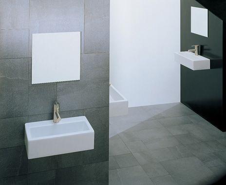 Artceram, #lavabo FUORI BOX 27  Design Urbinati #washbasin #bagno #small #bathroom