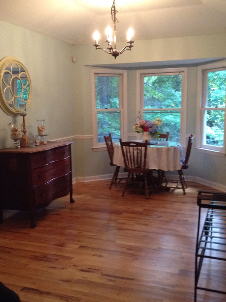the dining room in copen blue by sherwin williams this on sherwin williams dining room colors id=29836