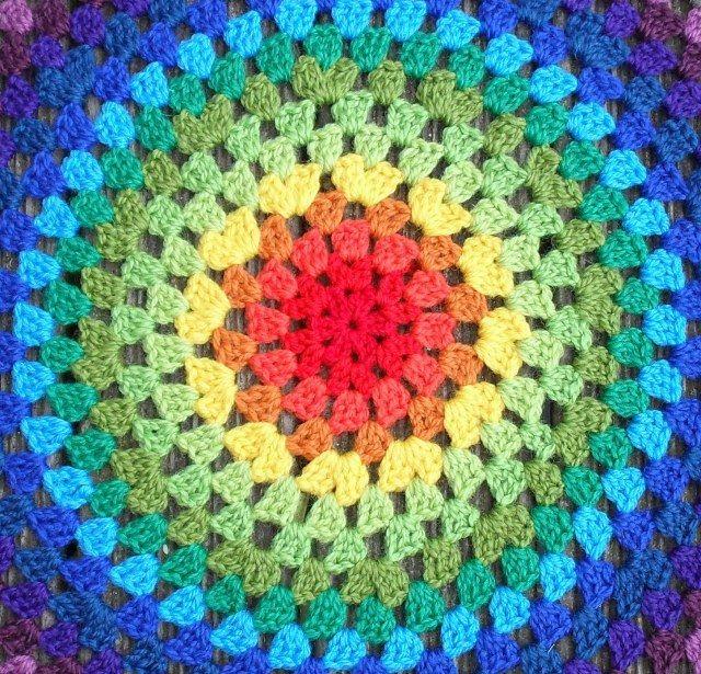 Granny Mandala Instructions- Great Tute!
