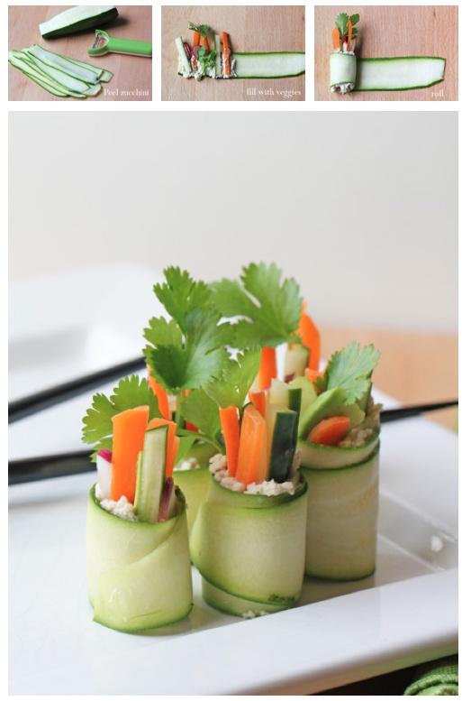 Mmm veggie sushi
