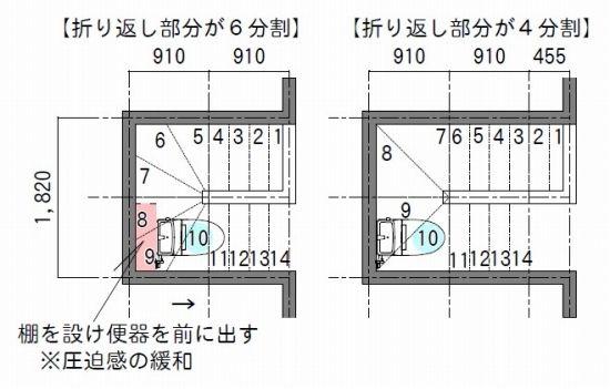 「階段下トイレ」で圧迫感なく使える高さを知りたい! | 失敗しない間取り相談 新築|リフォーム 間取りアドバイザー 坂口亜希子
