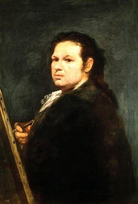 Autorretrato de Goya (h. 1783) - Francisco de Goya