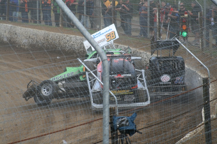This is what Superstock racing is all about.58p Peter Bengston getting hit by 135r Scott Hewson.