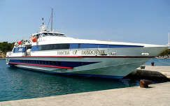 Makarska - kikötőben