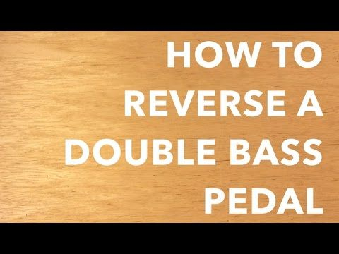 How to Reverse a Bass Drum Pedal for a Lefty Setup or a Cajon