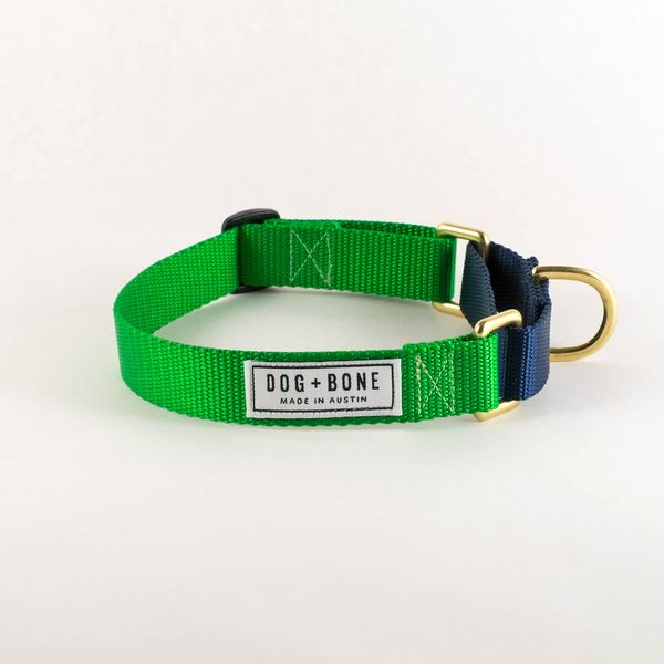 martingale dog collar made in austin texas l dog bone olive