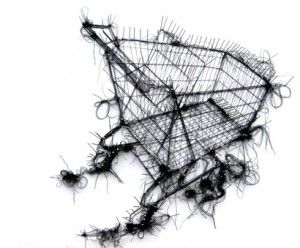 HeARTbeat : Debbie Smyth's Pin and Thread Drawings