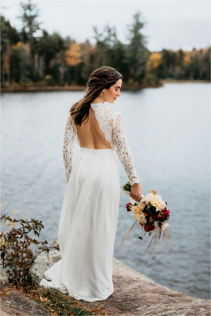 Fall Elopement on Rocky Mountain, Inlet, Adirondack Wedding Photographers