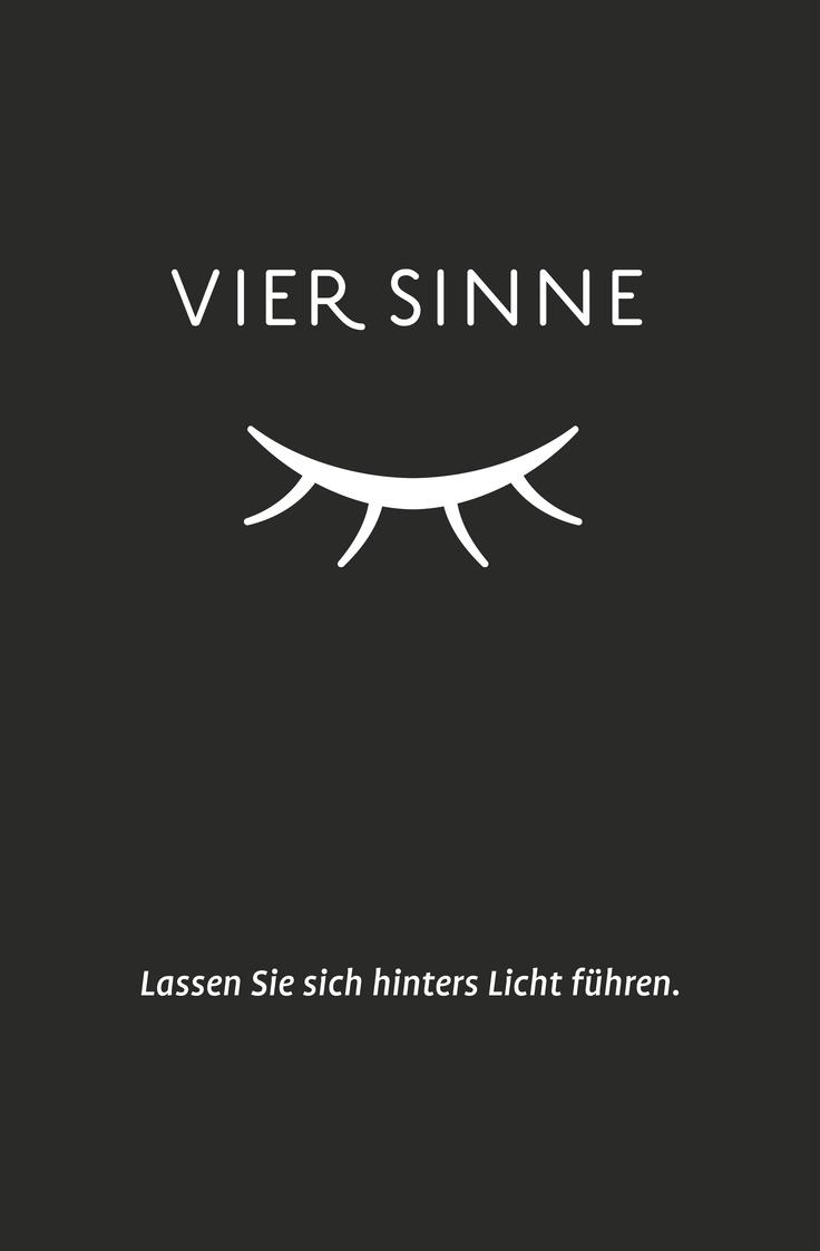 Logo und Slogan für Vier Sinne