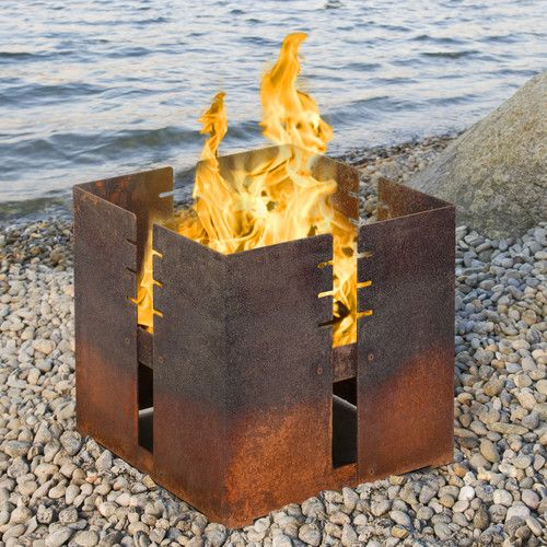 Found it at Wayfair.co.uk - Fidibus Steel Fire Pit