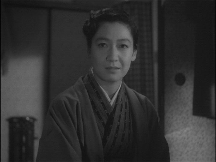 "Takako (Setsuko Hara) confronting her estranged mother Kisako (Isuzu Yamada): [referring to her sister] ""Akiko is dead...It's your fault."" -- from Tokyo Twilight (1957) directed by Yasujiro Ozu"