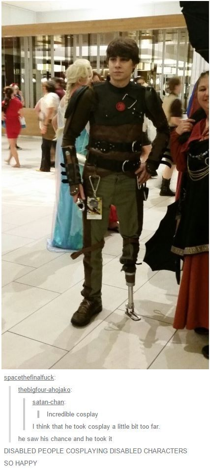 This is one of the best cosplays I've ever seen!! COSPLAY FOR ALL