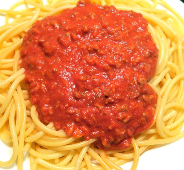 Těstoviny Bolognese / Pasta Bolognese |