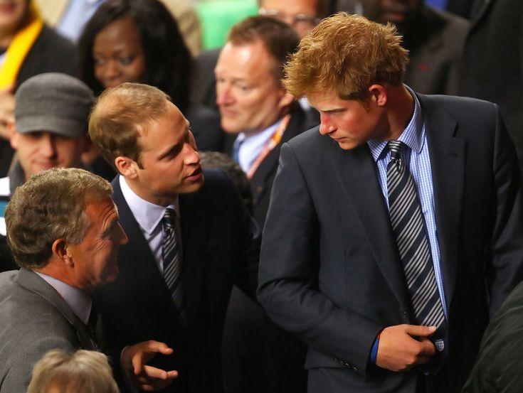 Prince William - Prince William And Harry Attend England v Algeria Match