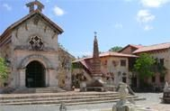 Casa de Campo - this is the church in the DR when the wedding took place. It's the chapel on the left.