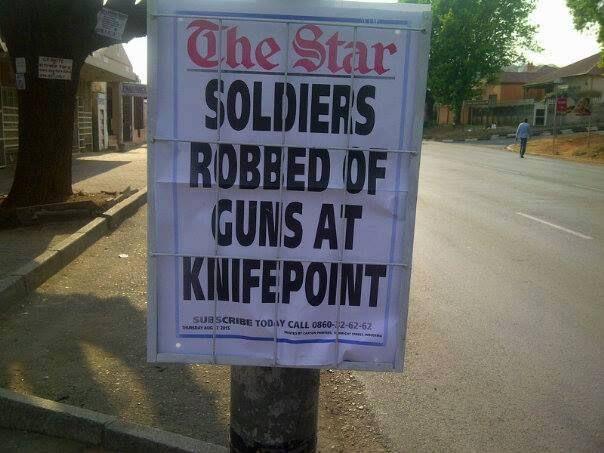 Welkom in Suid Afrika: