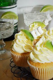 Katiecakes: Gin and Tonic Cupcakes